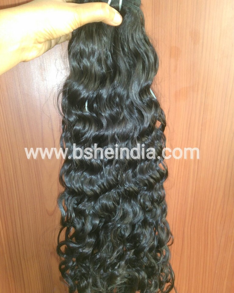 curly hair weave extensions